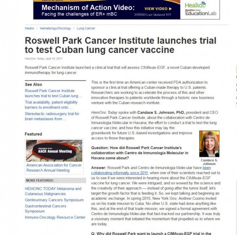 非小细胞肺癌疫苗
