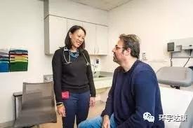 胰腺癌患者和Kimmie Ng医生