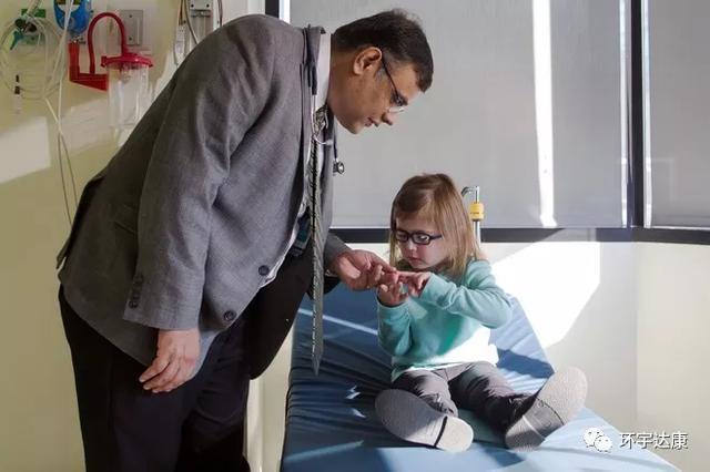 Mascarenhas博士和儿童肿瘤患者