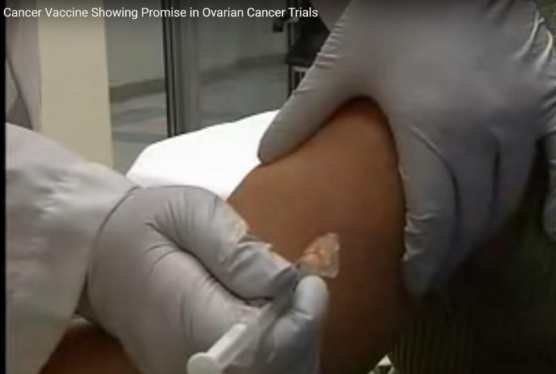 注射卵巢癌疫苗