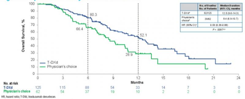 胃癌新药DS-8201研究结果