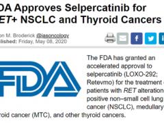 广谱抗癌药,新型RET抑制剂Selpercatinib(Retevmo)实力超群