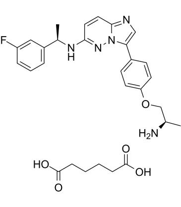 Taletrectinib分子式