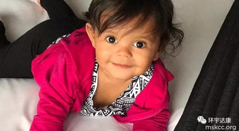 儿童肿瘤患者蕾哈娜手术后