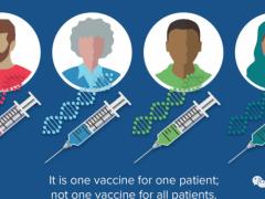 新型个体化癌症疫苗,抗癌疫苗,肿瘤疫苗,抗肿瘤疫苗,mRNA疫苗mRNA-4157让晚期肿瘤患者完全缓解
