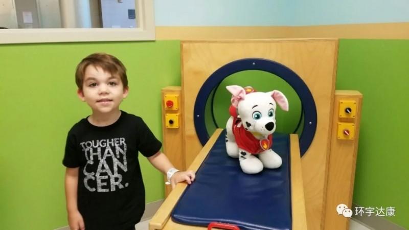 髓母细胞瘤患者欧文·兰斯顿