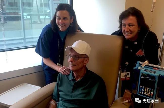 全球首个接受CAR-T治疗的成年白血病患者Bill Ludwigs