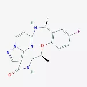 TPX-0005的分子结构式
